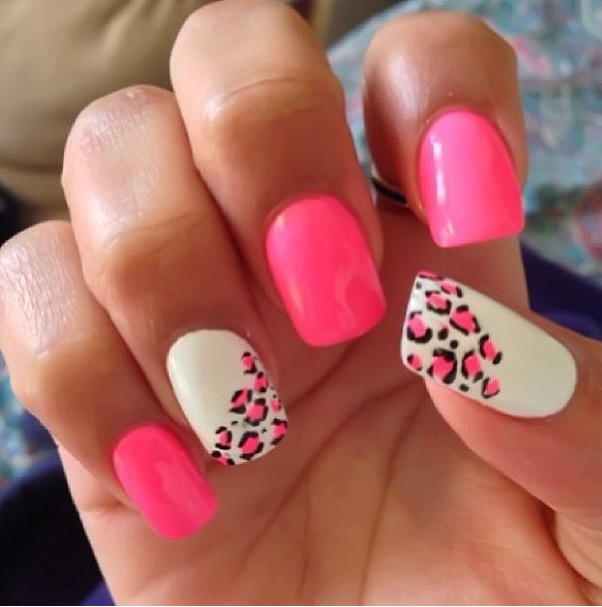 Cheetah-Print-Nail-Designs-3