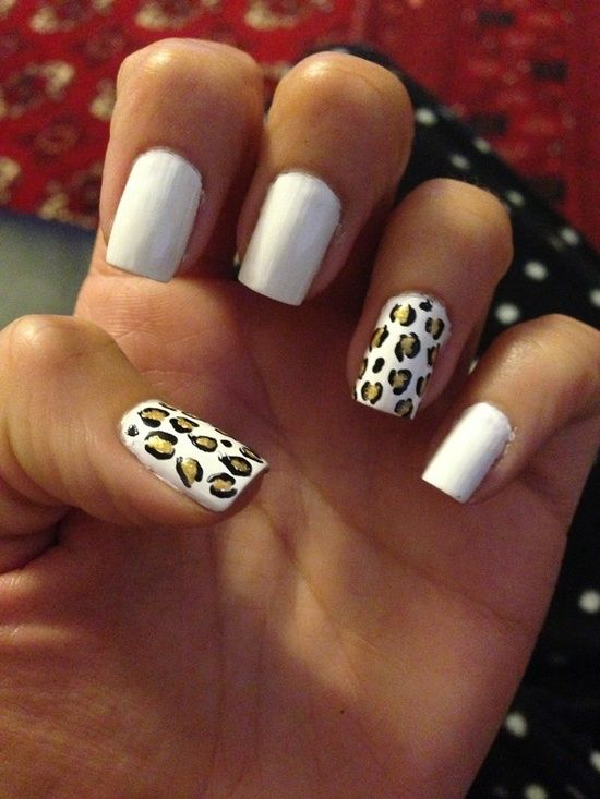 Cheetah Print Nail Designs 4