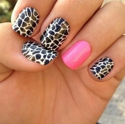 Cheetah Print Nail Designs 7 Cheetah Print Nail Designs 7