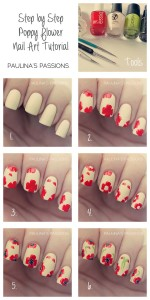 Simple Flower Nail Art 1 150x300 Simple Flower Nail Art 1