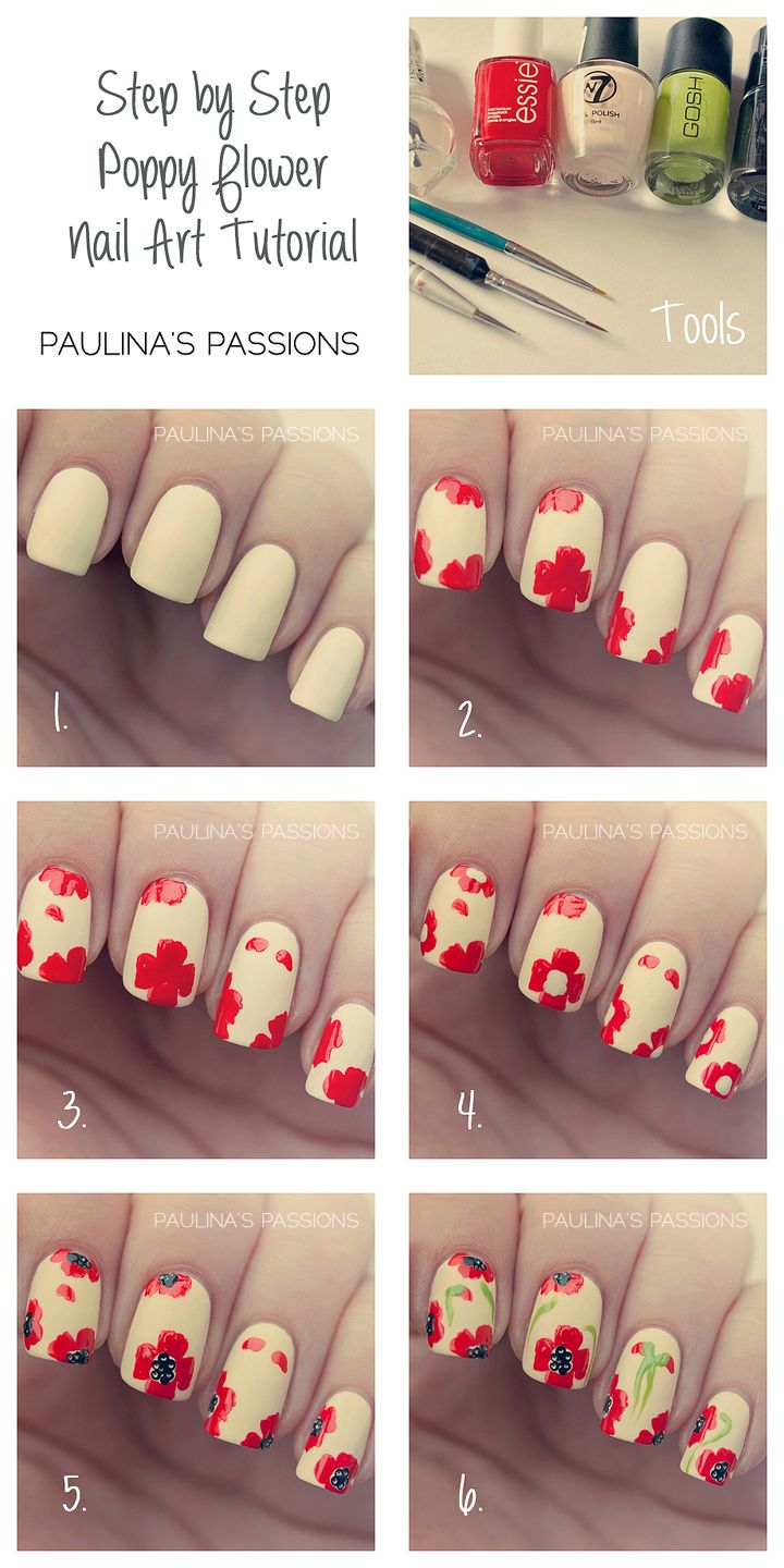 Simple-Flower-Nail-Art-1